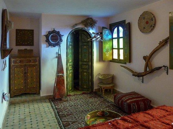Riad Lahboul: Berber bedroom