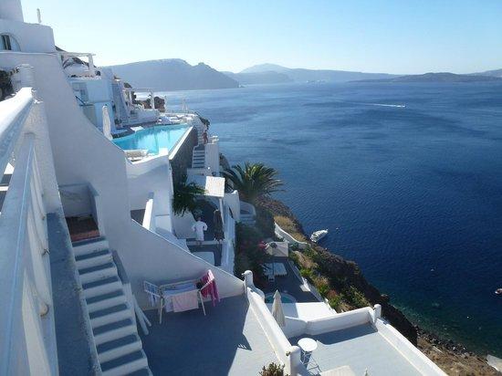 La Perla Villas: vue de l 'hotel