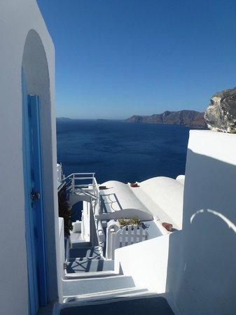 La Perla Villas : vue de l'hotel