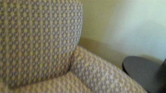 BEST WESTERN Royal Sun Inn & Suites: comfy chair with ottoman for resting and watching tv