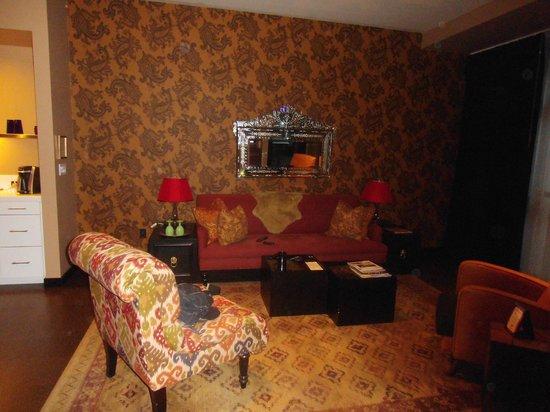 The Redbury Hollywood : Vardagsrummet ;)