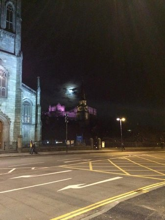 Waldorf Astoria Edinburgh - The Caledonian: View from out front of the Hotel