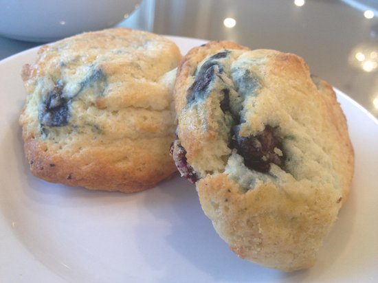 Lithia Springs Resort: Fresh baked blueberry scones - yes they ARE that delish!