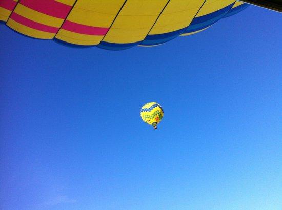 Up & Away Ballooning: Beautiful sky!