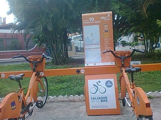Fogo de Chao : Salvador vai de bike..pertinho do restaurante