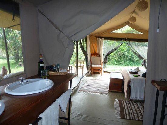 Encounter Mara, Asilia Africa: Roomy and comfortable