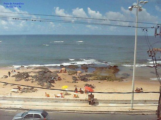 B Hotel : Vista do apartamento para a praia de Amaralina