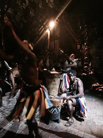 The Boma Place of Eating : African Drumming workshop and Dancers at The Boma