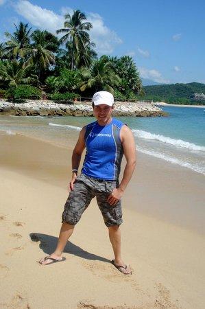Las Brisas Huatulco: playa