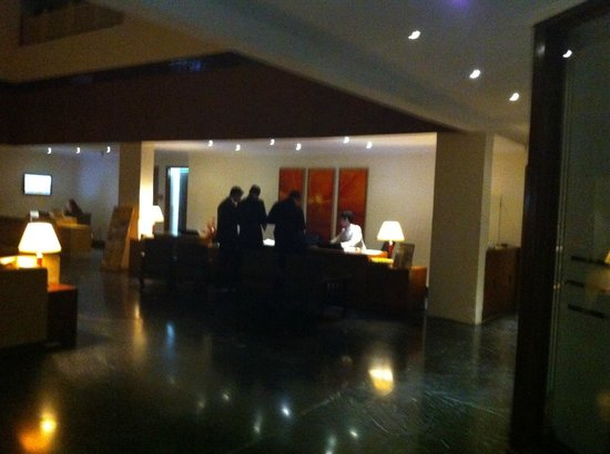 Golden Tulip Udaipur: reception area