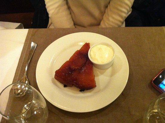 Brasserie Vaudeville : Torta d'ananas con gaspacio di cocco
