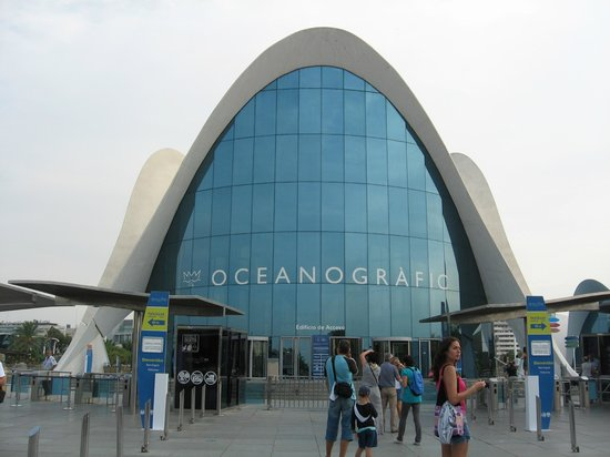 Oceanografic: Океанографик в Валенсии
