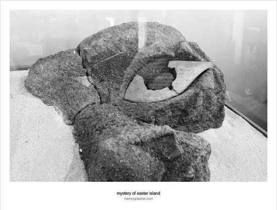 Museo Antropologico P. Sebastian Englert : The Coral Eye