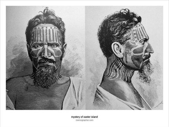 Museo Antropologico P. Sebastian Englert : Drawing