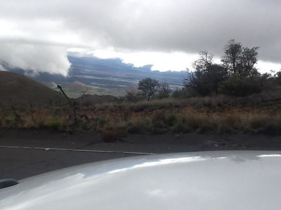 Maunakea Visitor Information Station: view from near the VIS (visitors information center)