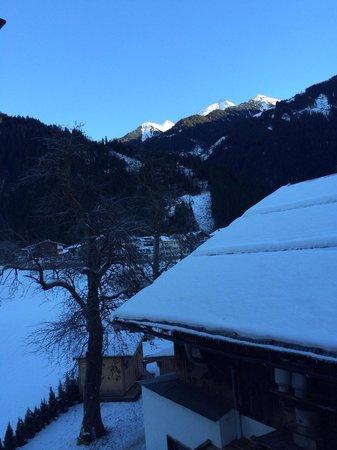 Alpenresort Thanner: Вид с балкончика