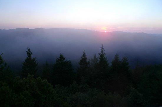 Bald Knob Lookout: Sunset