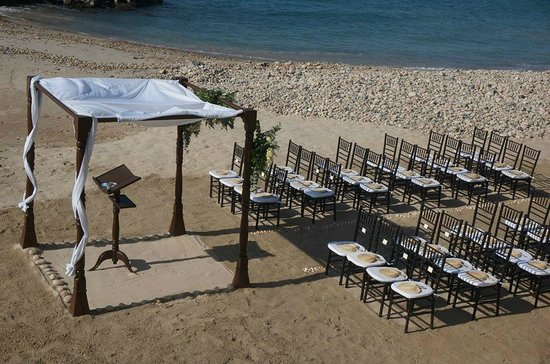 Hotel Playa Fiesta: Wedding site