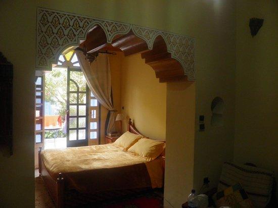 Riad Zahra: Nuestra habitación
