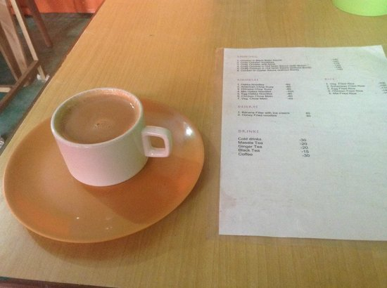 Pyuthani cafe and Chinese food: cup of Chai