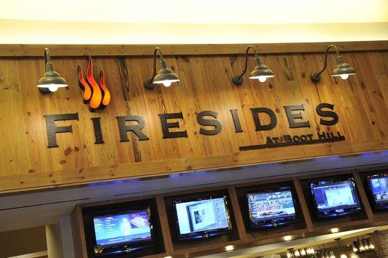 Fireside Restaurant : Firesides