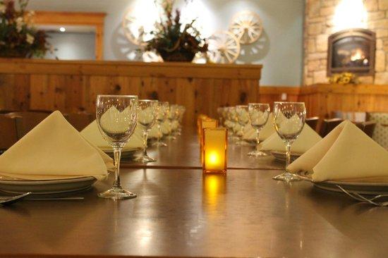 Fireside Restaurant: Banquet Seating