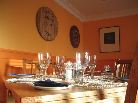 Crannag Bistro: Handmade cask ends
