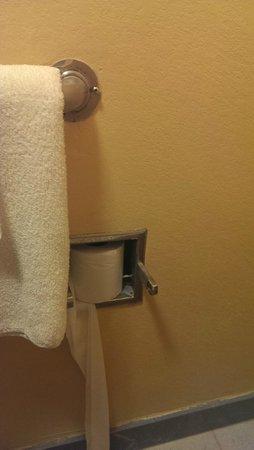 Oak Leaf Inn: Toilet paper holder