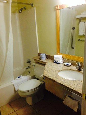 Best Western Plus Windjammer Inn & Conference Center: Bathroom