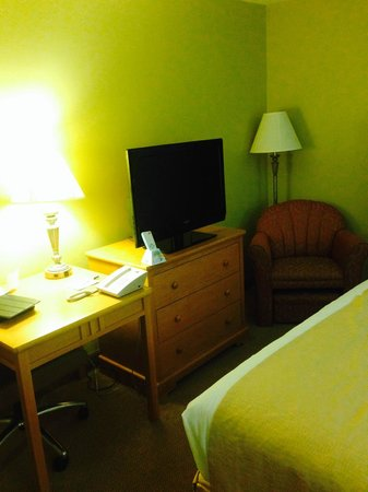 BEST WESTERN PLUS Windjammer Inn & Conference Center: Chair and Desk