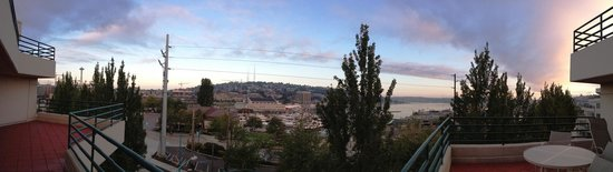 Residence Inn Seattle Downtown/Lake Union: Panoramic morning view