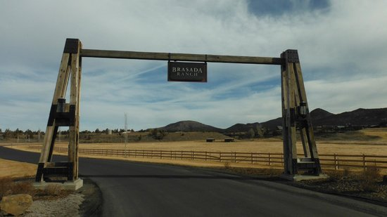 Brasada Ranch: Entrance