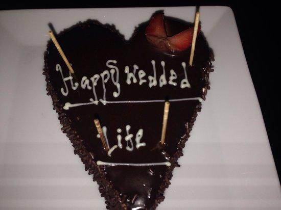 Uga Ulagalla: Cake made for us!!!