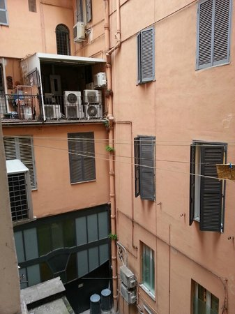 Hotel Elide : View from our window