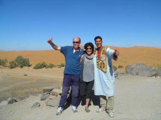 Auberge La Source: Con los amigos en el desierto