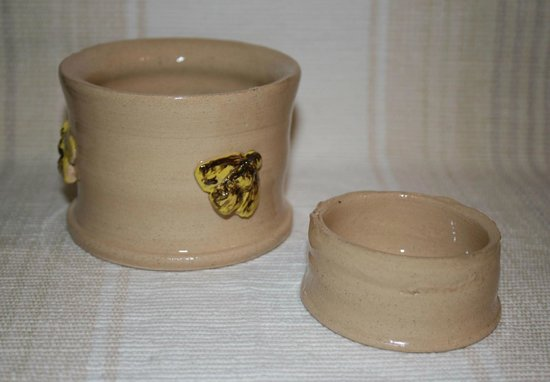 Eastnor Pottery & The Flying Potter : My pots - really pleased with them!