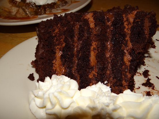 The Cheesecake Factory: Torta de chocolate