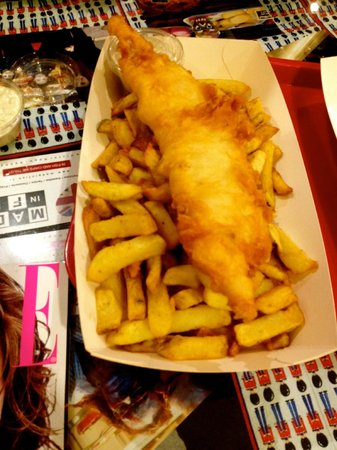 Made In Fish : fish n chips