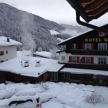 Hotel Gran Pre: Panorama dalla finestra