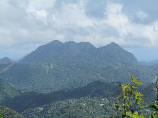 Pitons: View for the top!