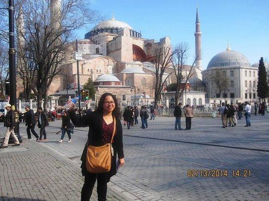 Stanpoli Hostel : Blue Mosque, 5-minute walk from Stanpoli Hotel.