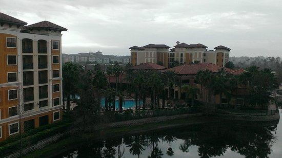 Floridays Resort Orlando: From balcony overlooking lake and resort