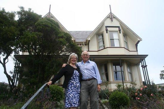 Milton House: Ali and Richard