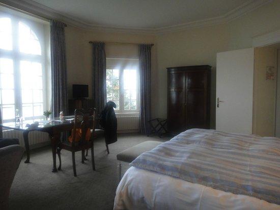 Chateau Richeux : Chambre double