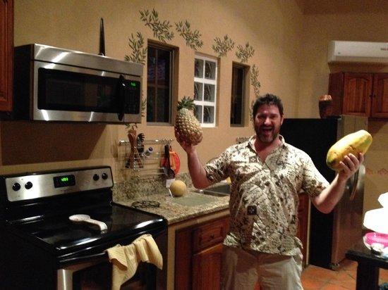 Villas del Rey: Grosse Küche