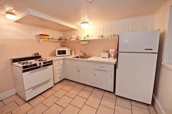Lankford Hotel: the Ground Level suite kitchen