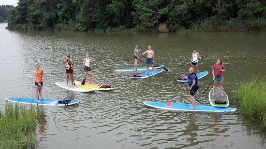 Shore Pedal and Paddle: Family Gathering