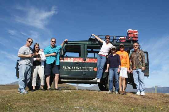 Ridgeline Adventures : At the top