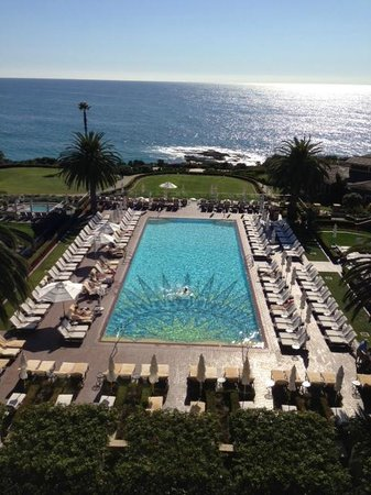 Montage Laguna Beach: View from the Lobby Lounge on the fifth floor
