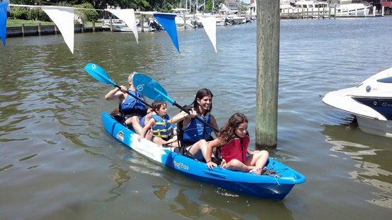 Shore Pedal and Paddle: A Boat Load